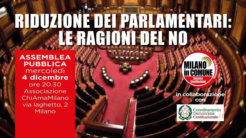 Riduzione dei parlamentari: le ragioni del No